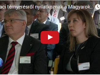 Külpiaci térnyerésről nyilatkoznak a Magyarok a Piacon Klub tagjai a Profit7 műsorban