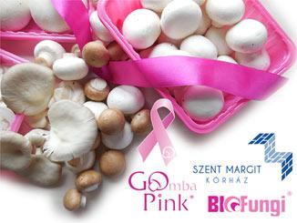GoPink!: Rózsaszín tálcás gombatermékekkel a mellrák ellen