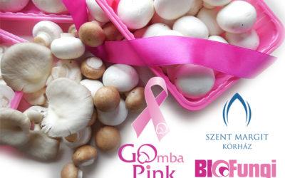 Rózsaszín tálcás gombatermékekkel a mellrák ellen már nyolcadik éve