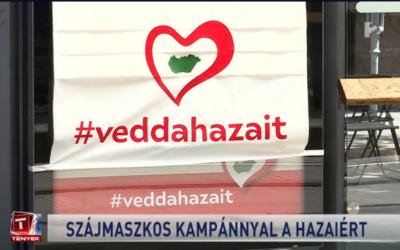 """A Magyar Termék """"Vedd a hazait! Védd a hazait!"""" mozgalom keretein belül kihelyezett plakátokról ma lekerülnek a maszkok! #veddahazait"""