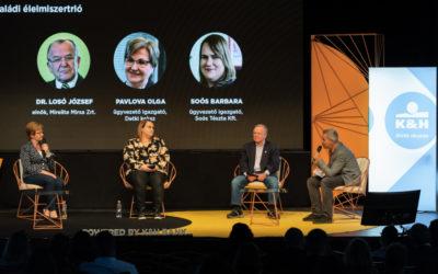 Forbes Flow üzleti fesztivál, klubtársaink; Pavlova Olga (Detki Keksz Kft.) és Dr. Losó József (Mirelite Mirsa Zrt.) részvételével.