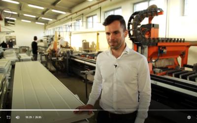 A Kling Kft. műszaki igazgatója, Dr. Kling Sándor számolt be a legújabb innovációkról a kapugyártás területén.