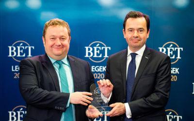 """Gratulálunk Klubtársunknak, az ALTEO Energiaszolgáltató Nyrt.-nek, akik a BÉT """"Növekedési Kötvényprogram kibocsátói díjat"""" nyertek!"""